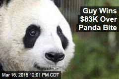Guy Wins $83K Over Panda Bite