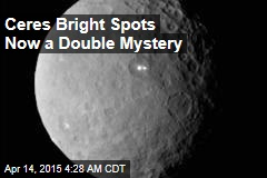 Ceres Bright Spots Now a Double Mystery
