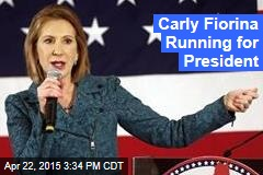 Carly Fiorina Running for President