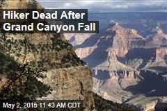 Hiker Dead After Grand Canyon Fall