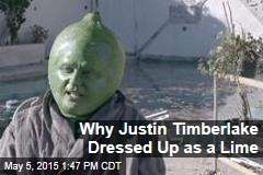 Why Justin Timberlake Dressed Up as a Lime