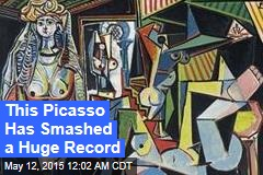 Picasso Painting Smashes Auction Record