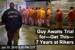 Guy Awaits Trial for How Long at Rikers?