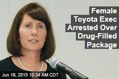 Female Toyota Exec Arrested Over Pill-Filled Package