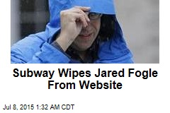 Subway Wipes Jared Fogle From Website