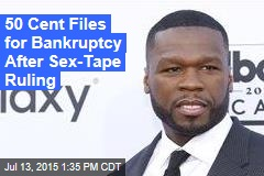 50 Cent Files for Bankruptcy After Sex-Tape Ruling