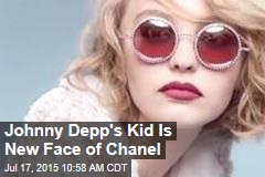 Johnny Depp's Kid Is New Face of Chanel