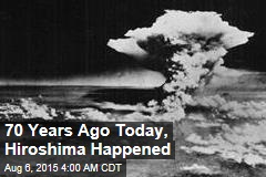 Japan Marks 70 Years Since Hiroshima