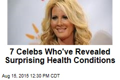 7 Celebs Who've Revealed Surprising Health Conditions