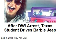 After DWI Arrest, Texas Student Drives Barbie Jeep