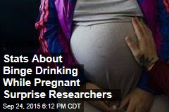Stats About Binge Drinking While Pregnant Surprise Researchers