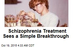 Schizophrenia Treatment Sees a Simple Breakthrough