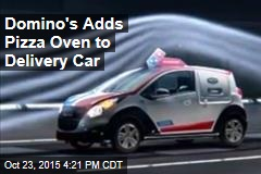 Domino's Adds Pizza Oven to Delivery Car