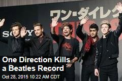 One Direction Kills a Beatles Record