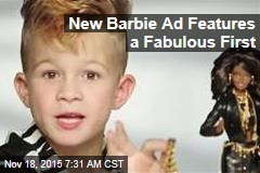 New Barbie Ad Features a Fabulous First