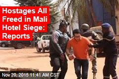 Hostages All Freed in Mali Hotel Siege: Reports