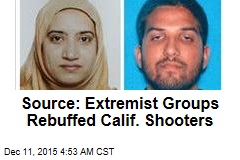 Source: Extremist Groups Rebuffed Calif. Shooters