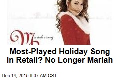 Most-Played Holiday Song in Retail? No Longer Mariah
