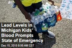 Lead Levels in Michigan Kids' Blood Prompts State of Emergency