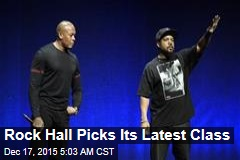 NWA Enters Rock Hall of Fame