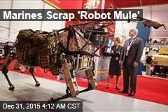 Marine Corps Gives Up on 'Robot Mule'