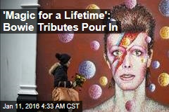 From the Vatican to Space, Bowie Tributes Pour In