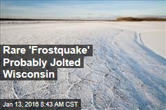 Rare 'Frostquake' Probably Jolted Wisconsin