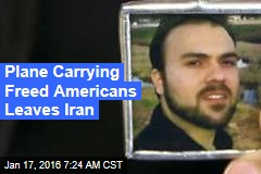 Plane Carrying Freed Americans Leaves Iran