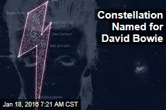 Constellation Named for David Bowie