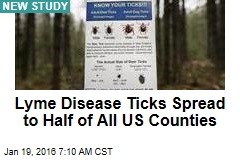 As Ticks Spread Like Wildfire, Lyme Disease Triples