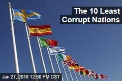 The 10 Least Corrupt Nations