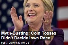 Myth-Busting: Coin Tosses Didn't Decide Iowa Race