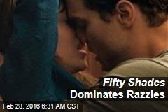 Fifty Shades Dominates Razzies