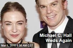 Michael C. Hall Weds Again