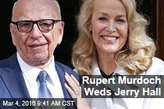 Rupert Murdoch Weds Jerry Hall