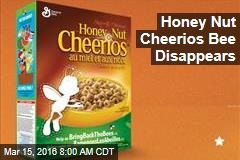 Honey Nut Cheerios Bee Disappears