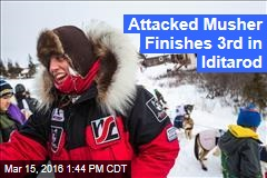 Attacked Musher Finishes 3rd in Iditarod