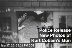 Police Release New Photos of Kurt Cobain's Gun