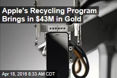 Apple's Recycling Program Brings in $43M in Gold
