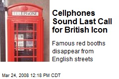 Cellphones Sound Last Call for British Icon