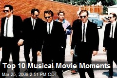 Top 10 Musical Movie Moments