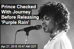 Prince Checked With Journey Before Releasing 'Purple Rain'