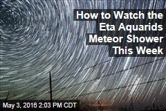 How to Watch the Eta Aquarids Meteor Shower This Week