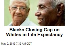 Blacks Closing Gap on Whites in Life Expectancy
