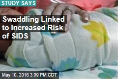 Swaddling Linked to Increased Risk of SIDS
