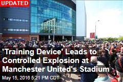 Bomb Threat Leads to Controlled Explosion at Manchester United's Stadium