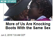More of Us Are Knocking Boots With the Same Sex