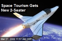 Space Tourism Gets New 2-Seater