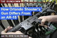 How Orlando Shooter's Gun Differs From an AR-15