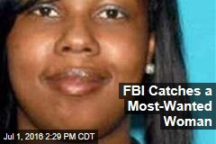 FBI Catches a Most-Wanted Woman
